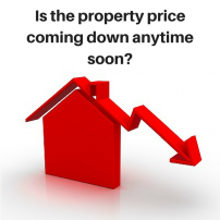 Is the Property price coming down